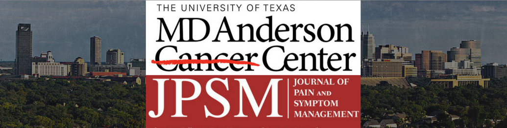 MD Anderson Study Proves Alpha-Stim Effectively Treats Pain, Anxiety, Insomnia & Depression in Advanced Cancer Patients